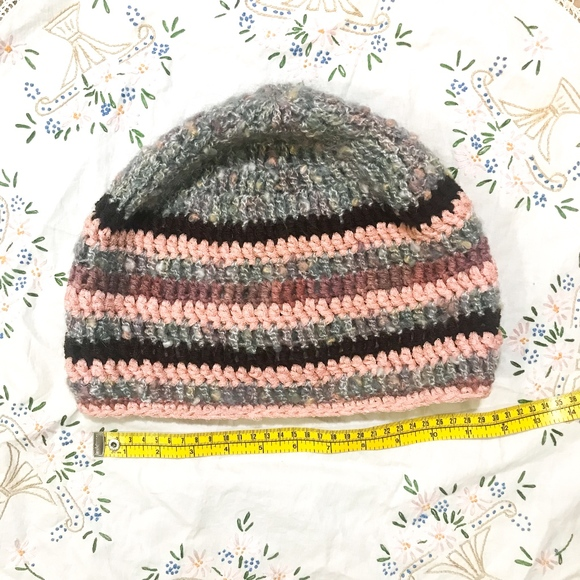 4486bb70 NEW Slouchy Beanie Crochet Hat TAM OverSize Cap NWT